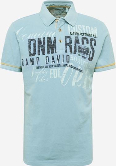 CAMP DAVID Koszulka w kolorze jasnoniebieskim: Widok z przodu