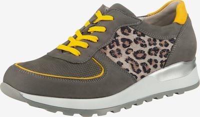 WALDLÄUFER Sneaker 'Hiroko' in beige / gelb / grau, Produktansicht