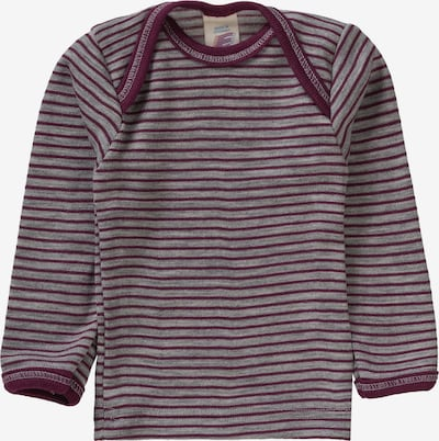 ENGEL Unterhemd in lila / kirschrot: Frontalansicht