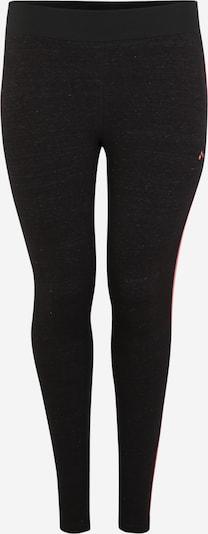Only Play Curvy Sport-Hose 'ONPANGIE' in schwarz, Produktansicht