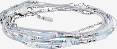 FOSSIL Armband in hellblau / weiß, Produktansicht