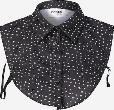 Apykaklė 'Blackstar' iš Pinned by K , spalva - juoda / balta, Prekių apžvalga