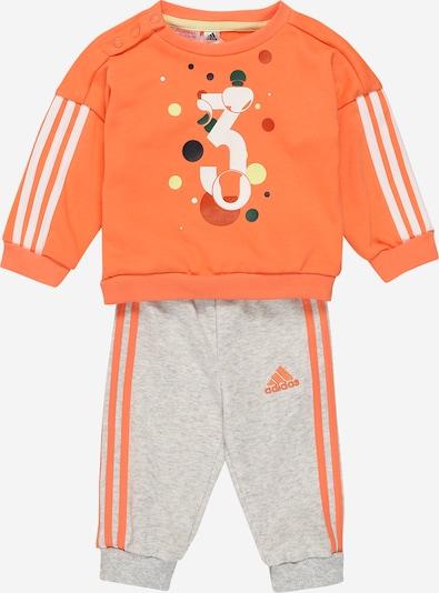 ADIDAS PERFORMANCE Survêtement 'I SUM JOGG FT' en orange / blanc, Vue avec produit