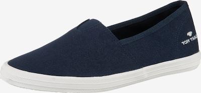 TOM TAILOR Slip on boty - marine modrá / bílá, Produkt
