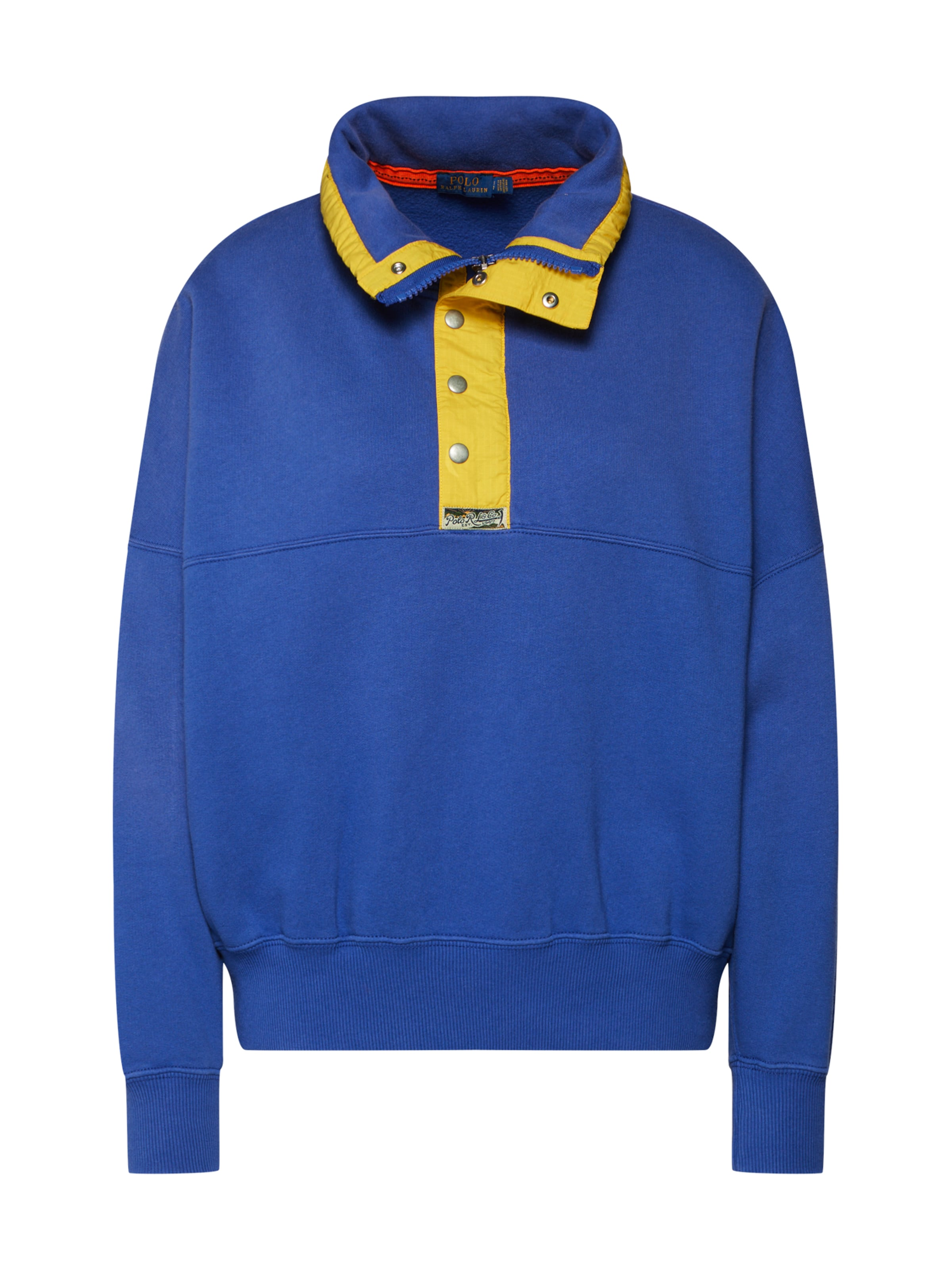 Fnlnk knit' Sleeve Polo Sweat Bleu 'os Ralph En Lauren long shirt n0w8OkP