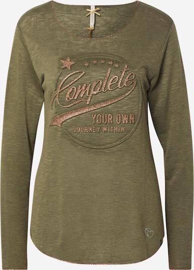 Key Largo Shirt 'WLS OWN' in khaki / mischfarben, Produktansicht