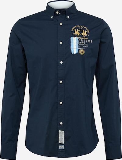 Dalykiniai marškiniai iš La Martina , spalva - tamsiai mėlyna, Prekių apžvalga