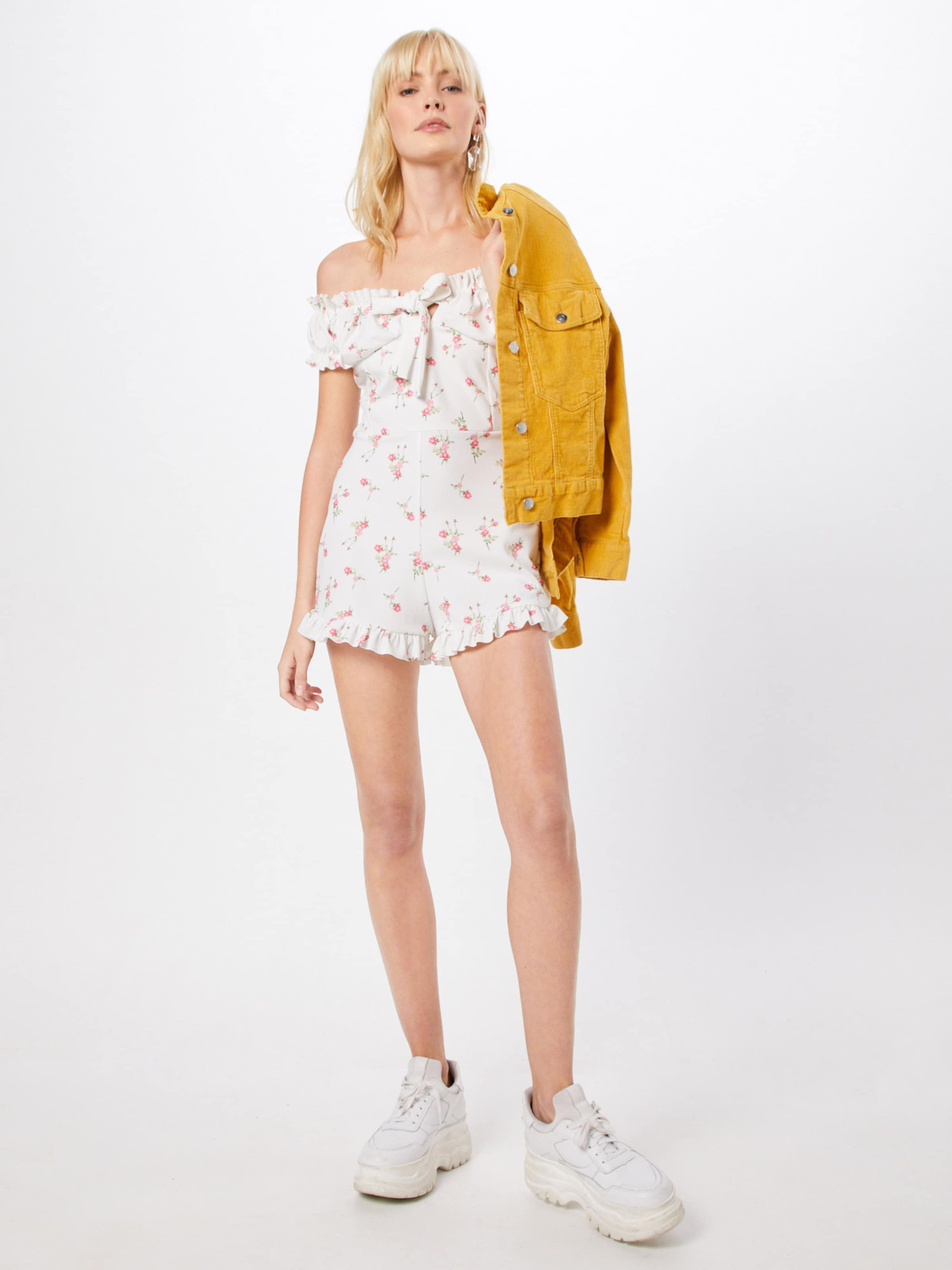 Overall Missguided Missguided PinkWeiß Overall In NvwnOym80