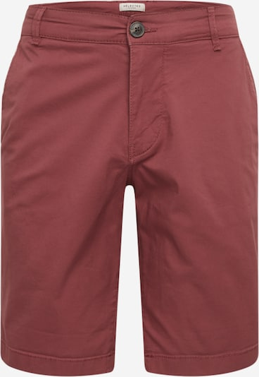 SELECTED HOMME Shorts 'SLHSTRAIGHT-PARIS SHORTS W NOOS' in weinrot, Produktansicht