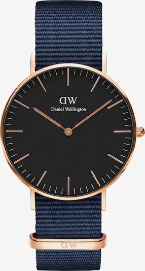 Daniel Wellington Uhr 'Classic 36 Bayswater' in navy / rosegold / schwarz, Produktansicht
