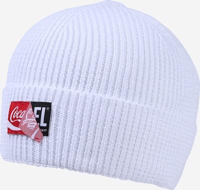 DIESEL Mütze  'CC-BEANY-COLA' in weiß, Produktansicht