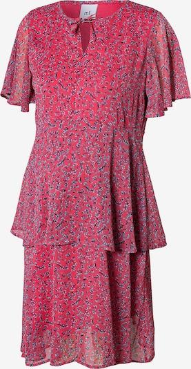 MAMALICIOUS Kleid in hellblau / pastellpink / blutrot / melone, Produktansicht
