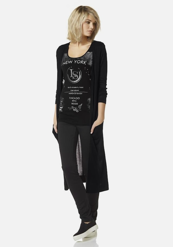 LAURA SCOTT Shirt mit Glanzprint