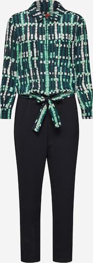 MAX&Co. Overall 'CUORE' in grün / schwarz, Produktansicht