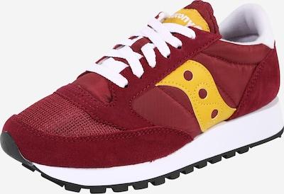 saucony Sneakers 'JAZZ ORIGINAL VINTAGE' in gelb / blutrot: Frontalansicht