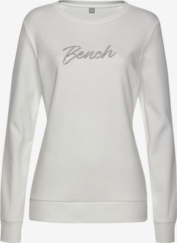 BENCH Sweatshirt in Weiß