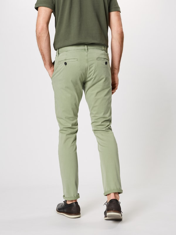 TOM TAILOR Hose in oliv: Rückansicht