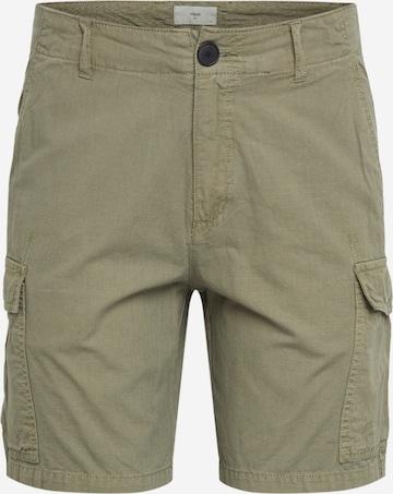 minimum Klapptaskutega püksid, värv roheline