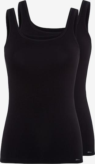 Skiny Unterhemd in schwarz, Produktansicht