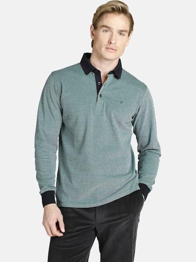 Charles Colby Shirt ' Duke Edgar ' in de kleur Groen: Vooraanzicht