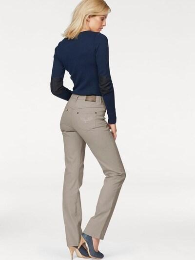 ARIZONA Comfort-fit-Jeans 'Gerade Form' in dunkelbeige, Produktansicht