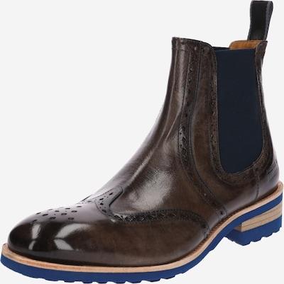 MELVIN & HAMILTON Chelsea Boots 'Walter 9' en brun foncé, Vue avec produit