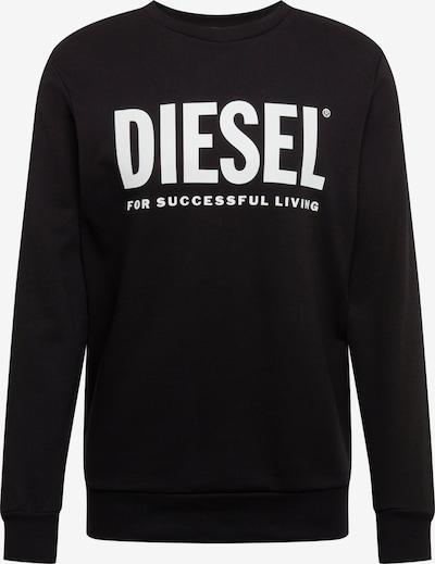 DIESEL Sweat-shirt en noir, Vue avec produit