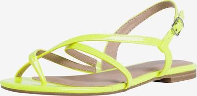 TAMARIS Sandale in gelb, Produktansicht