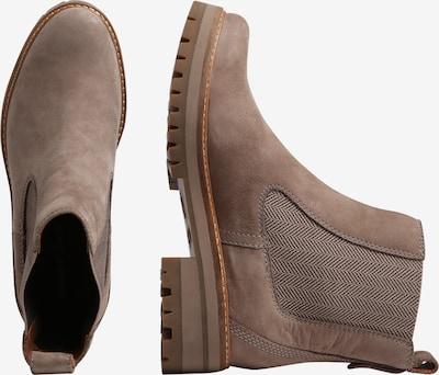 TIMBERLAND Boots 'Courmayeur Valley' in taupe: Seitenansicht
