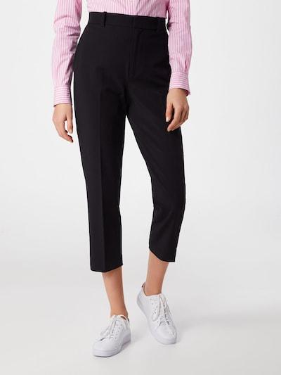 POLO RALPH LAUREN Spodnie w kant w kolorze czarnym, Podgląd na modelu(-ce)