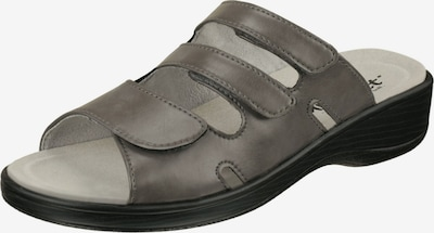 Natural Feet Sandale 'Cornelia' in dunkelgrau, Produktansicht