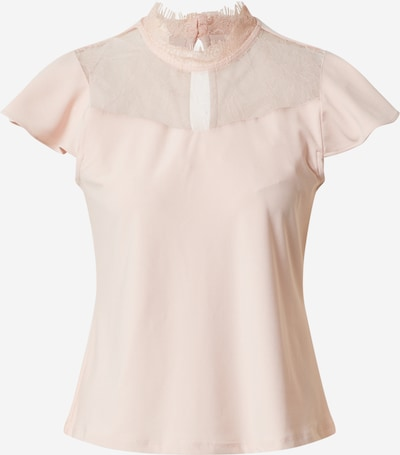 Vero Moda Petite Blouse 'VMMILLA SS LACE TOP GA VO PETITE' in de kleur Rosa / Oudroze, Productweergave