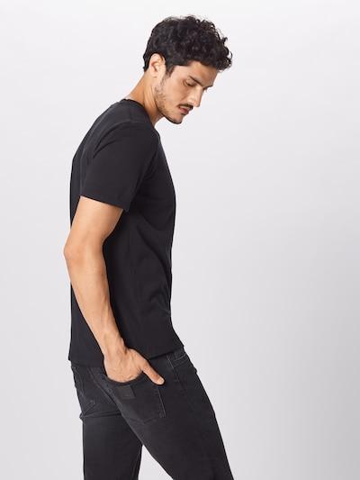 Marškinėliai iš SCOTCH & SODA , spalva - juoda: Vaizdas iš galinės pusės
