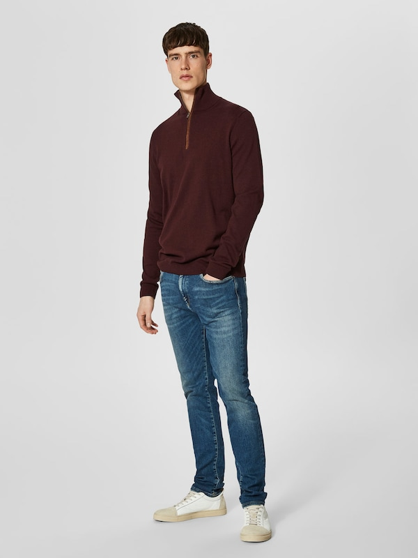 Selected Homme Knitted Sweaters Zip