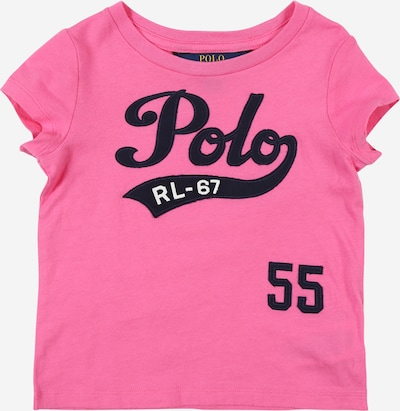 POLO RALPH LAUREN Shirt in pink / schwarz, Produktansicht