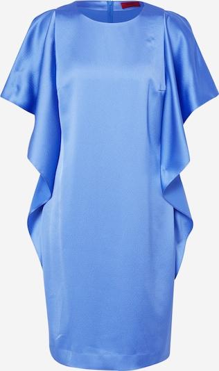 HUGO Avondjurk 'Kosali-1' in de kleur Blauw, Productweergave