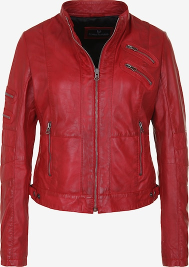 BRUNO BANANI Lederjacke 'LOLITA' in rot, Produktansicht