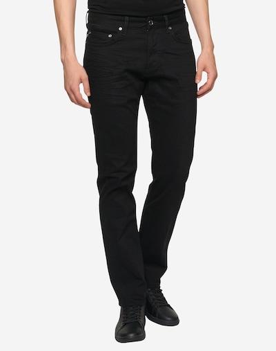 JOOP! Jeans Jeans 'Mitch' in de kleur Black denim: Vooraanzicht