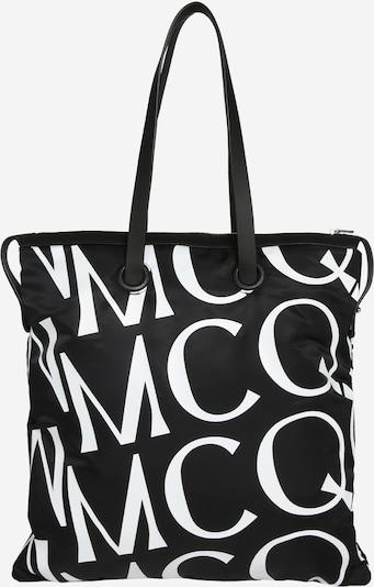 McQ Alexander McQueen Cabas en noir / blanc, Vue avec produit