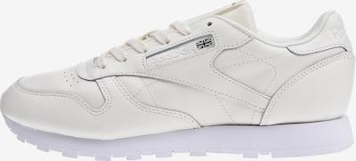 REEBOK Sneaker 'Classic Lthr X Face' in creme / weiß, Produktansicht