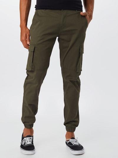 sötétzöld Only & Sons Cargo nadrágok, Modell nézet