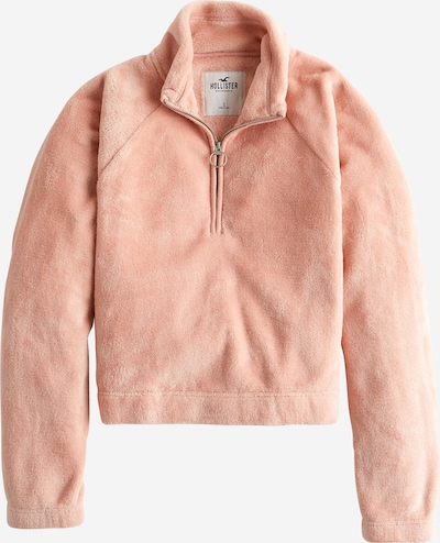 HOLLISTER Sweatshirt 'XM19-SHORT PILE MOCK HZ 2CC' in beige, Produktansicht