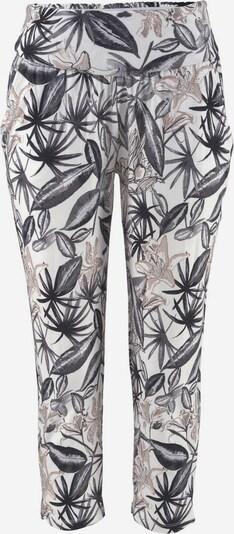 Pantaloni BUFFALO di colore grigio basalto / rosa antico / bianco, Visualizzazione prodotti