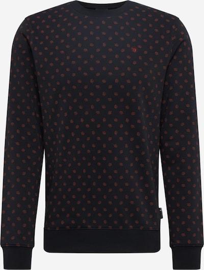 SCOTCH & SODA Sweatshirt in de kleur Donkergrijs / Koraal, Productweergave