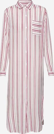 EDITED Kleid 'Savanna' in rot / weiß, Produktansicht