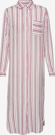 EDITED Košilové šaty 'Savanna' - červená / bílá, Produkt