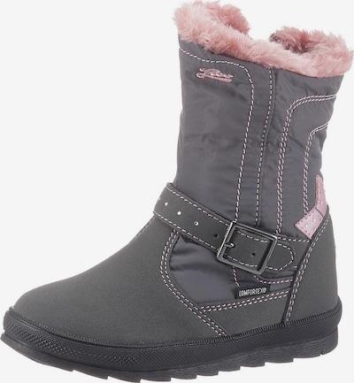LICO Winterboots 'Aluna' in grau / rosa, Produktansicht