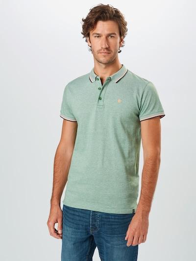 INDICODE JEANS T-Shirt 'Fuengirola' en vert: Vue de face