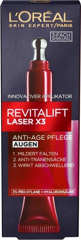 L'Oréal Paris 'RevitaLift Laser X3 Augenpflege' Augenpflege