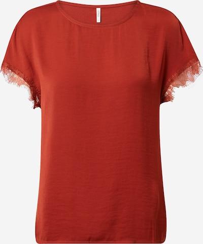 ONLY T-shirt en rouge orangé: Vue de face